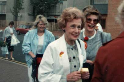 With Barbara Castle