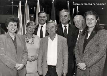 London Labour MEPs 1989 – 94