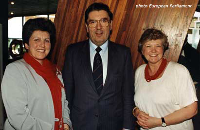 With John Hume and his Nobel Peace Prize